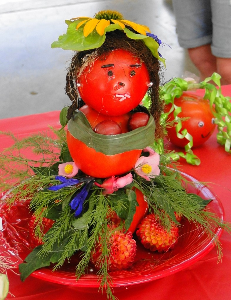 Best dressed tomato   second place   Tomato Fest XI  Aug 8 2015  mmv