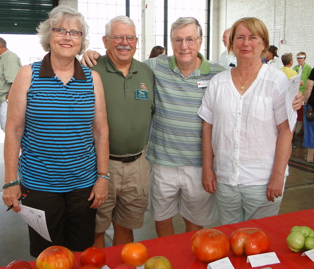 Judging team and event coordinator  Tomato Fest XI  Aug 8 2015  mmv